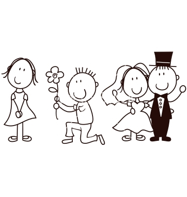 http://www.vectorstock.com/royalty-free-vector/wedding-cartoon-vector-577164