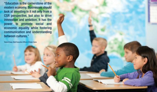 business backs education