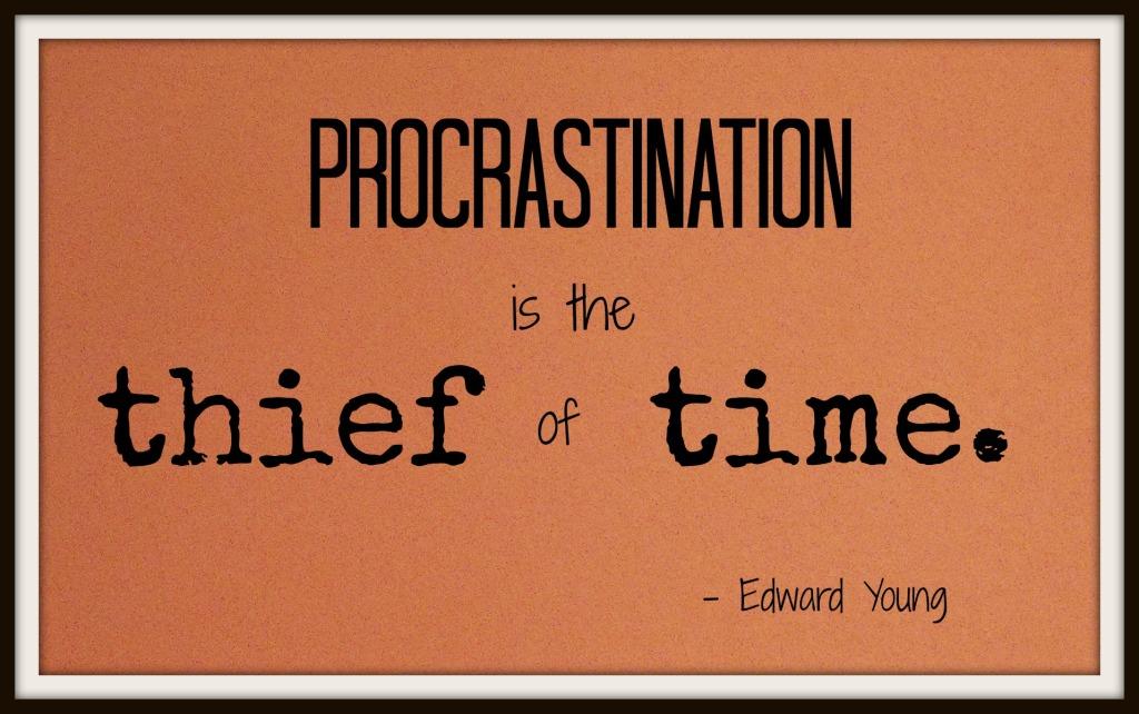 procrastination time management and online university